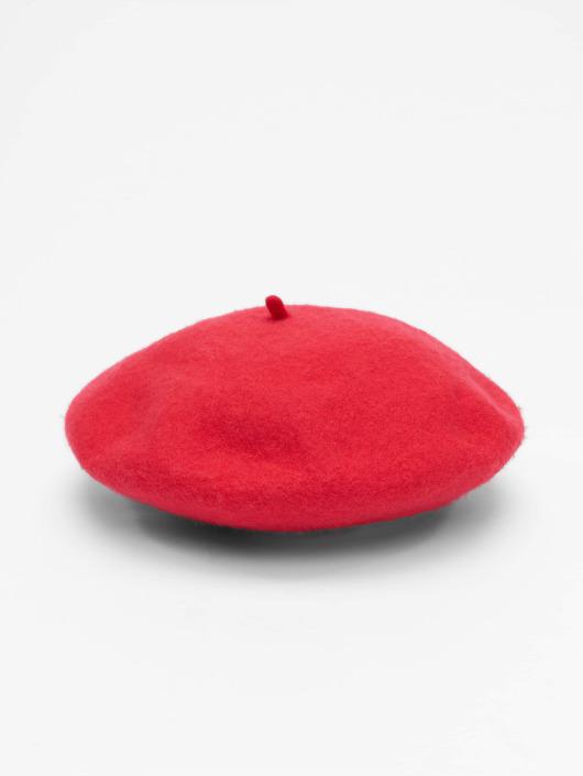 Vero Moda Kapelusze vmEmily Wool czerwony