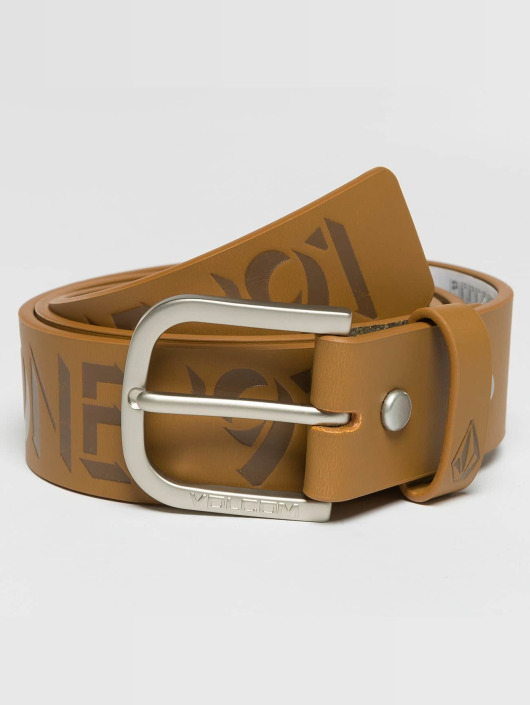Volcom Belt Empty brown