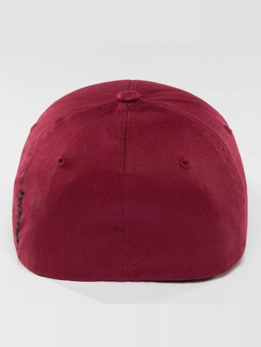 Volcom Flexfitted Cap Full Stone XFit czerwony