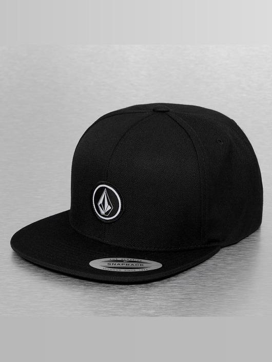 Volcom snapback cap Quarter zwart