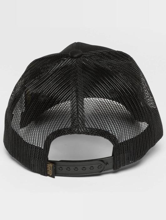 Von Dutch Casquette Trucker mesh Live Fast noir