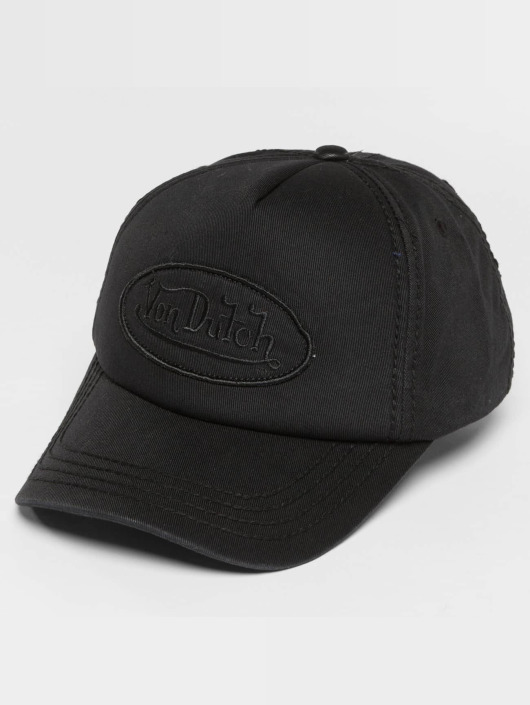Von Dutch snapback cap Pad zwart