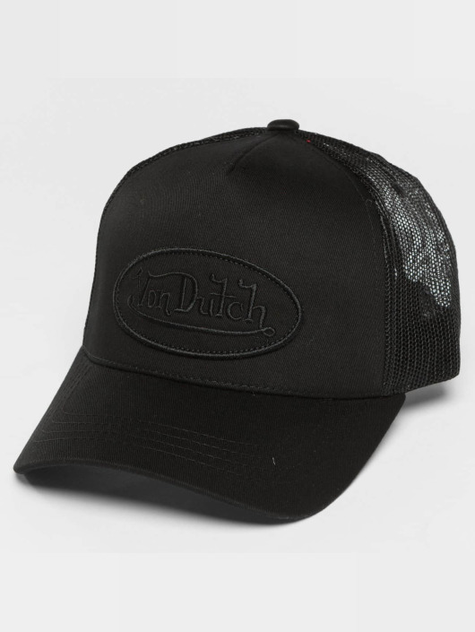 Von Dutch trucker cap Classic zwart