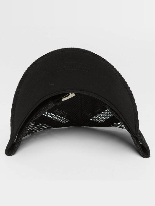Von Dutch Trucker Caps Cord czarny
