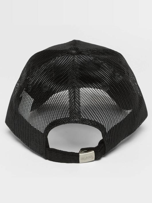 Von Dutch Verkkolippikset Cord musta
