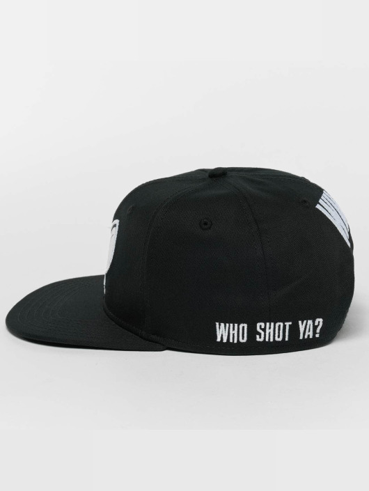 Who Shot Ya? Кепка с застёжкой Logo черный