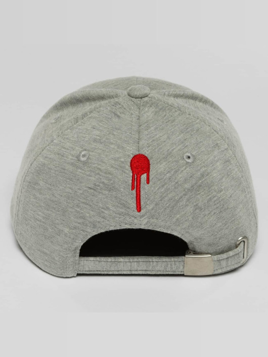 Who Shot Ya? Casquette Snapback & Strapback Lucid Style gris