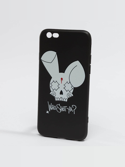 Who Shot Ya? Bunny Logo iPhone Case Black
