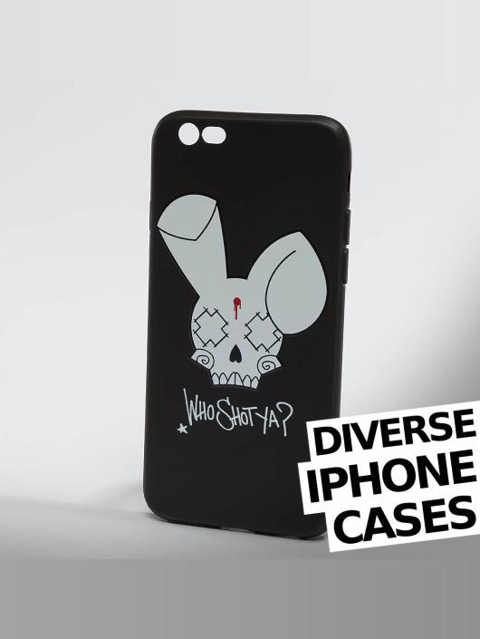 Who Shot Ya? Handyhülle Bunny Logo iPhone schwarz