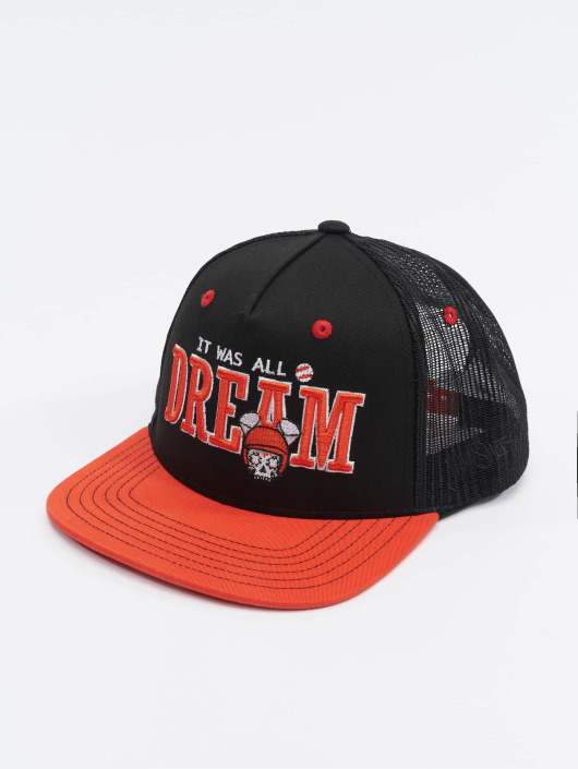 Who Shot Ya? Trucker Caps Dreamball svart
