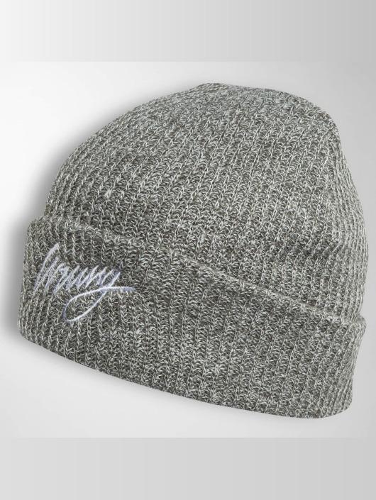 Wrung Division Bonnet Snow gris