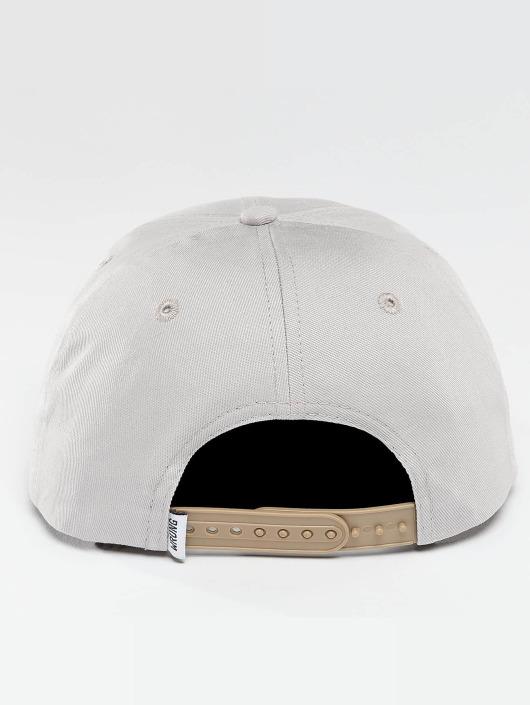 Wrung Division Snapback Cap Block grey