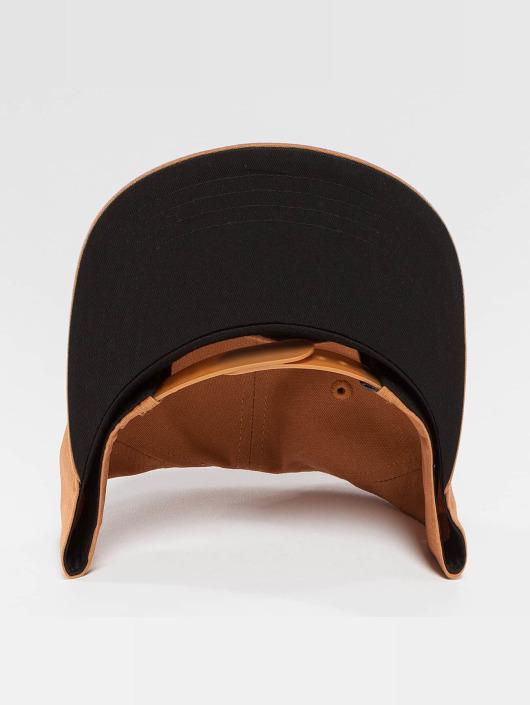 Wrung Division Snapback Caps Work brun