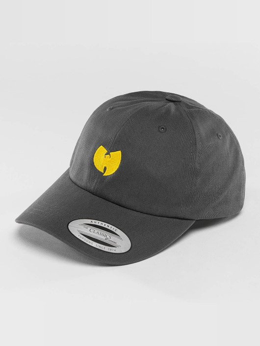 Wu-Tang Snapback Logo Dad šedá