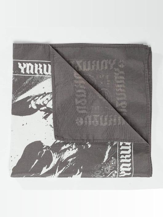 Yakuza Bandana/Durag Skull grey