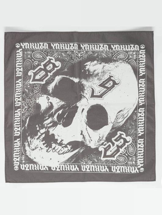Yakuza Bandana-huivit Skull harmaa