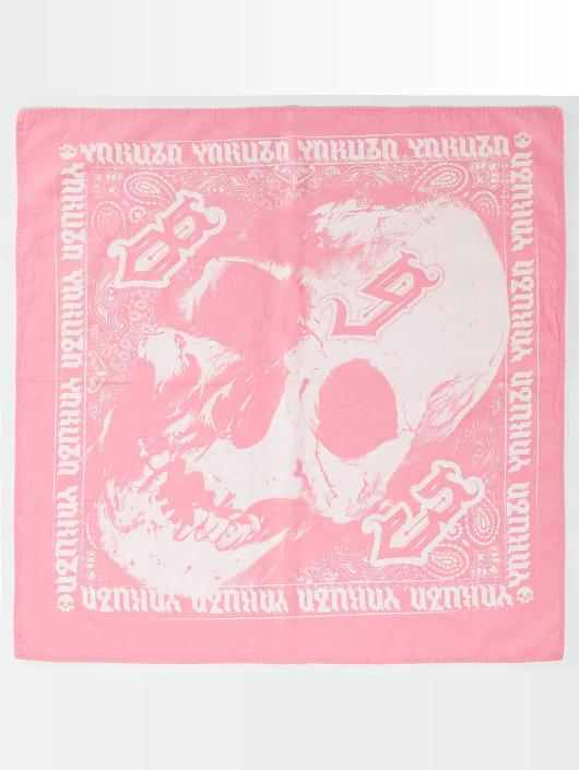 Yakuza Bandany/Durags Skull pink