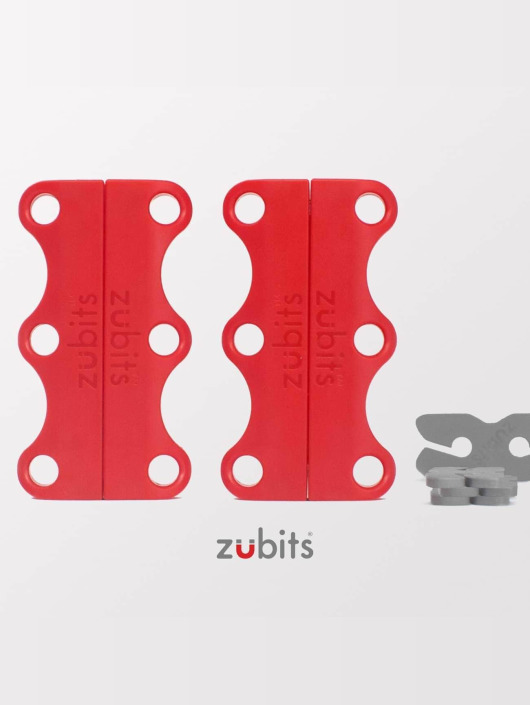 Zubits Shoelace Magnetic red
