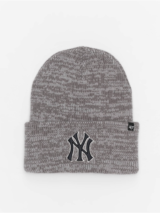 47 Brand Beanie MLB New York Yankees Brain Freeze grau