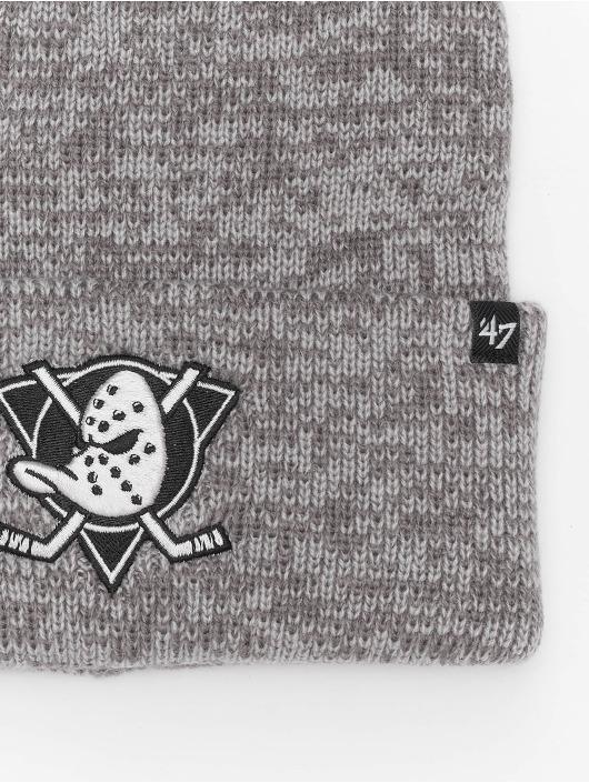47 Brand Beanie NHL Anaheim Ducks Brain Freeze grau