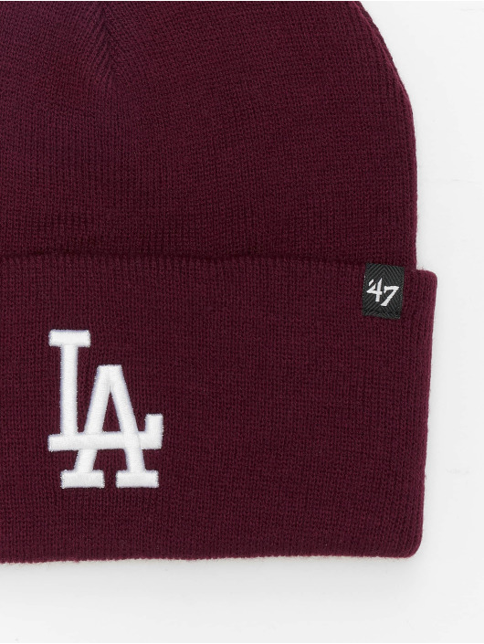 47 Brand Beanie MLB Los Angeles Dodgers Haymaker rot