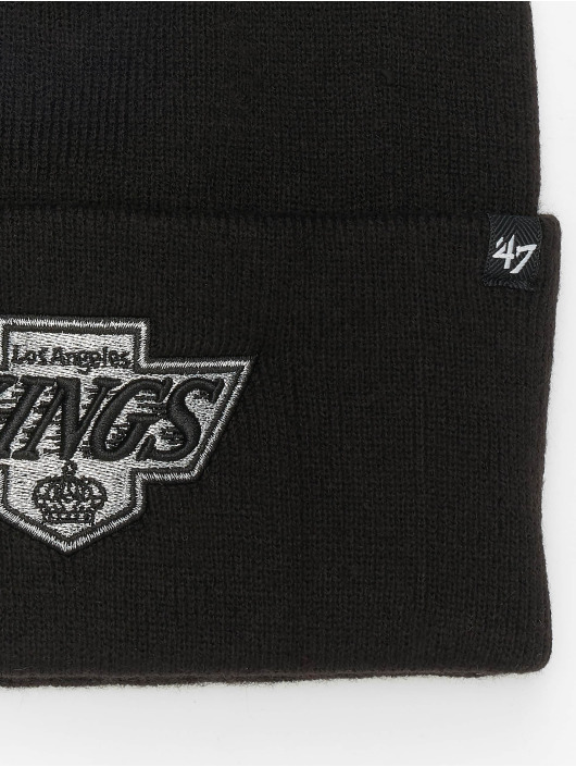 47 Brand Beanie NHL Los Angeles Kings Haymaker schwarz