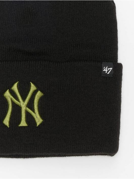 47 Brand Beanie MLB New York Yankees Haymaker schwarz