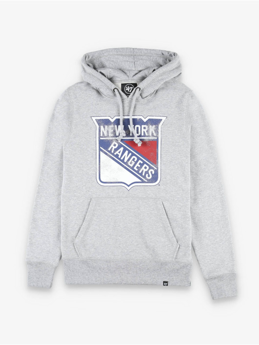 47 Brand Hoody New York Rangers Knockaround Headline grau