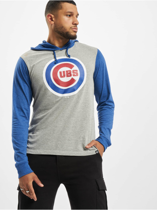 47 Brand Hoody Chicago Cubs Imprint Callback Club grau