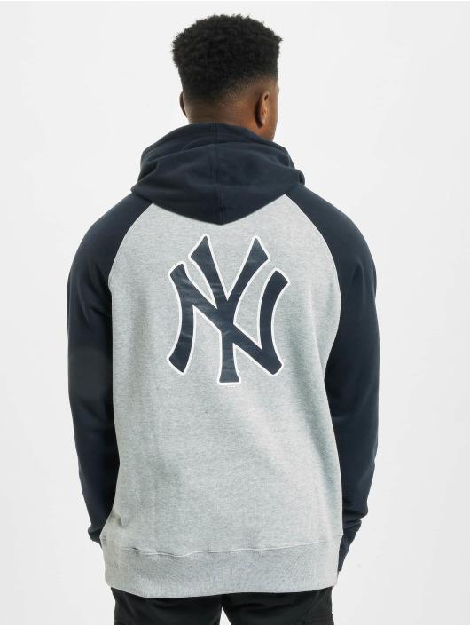 47 Brand Hoody MLB Yankees Sport Raglan grau
