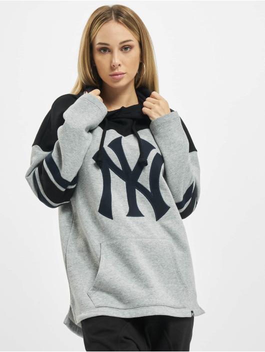 47 Brand Hoody Mlb Yankees Huron grau