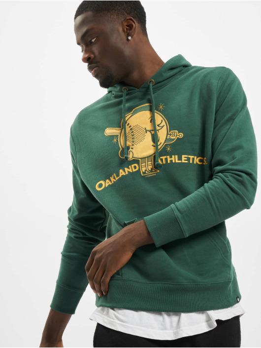47 Brand Hoody Oakland Athletics Global Artis Pine Conzo grün