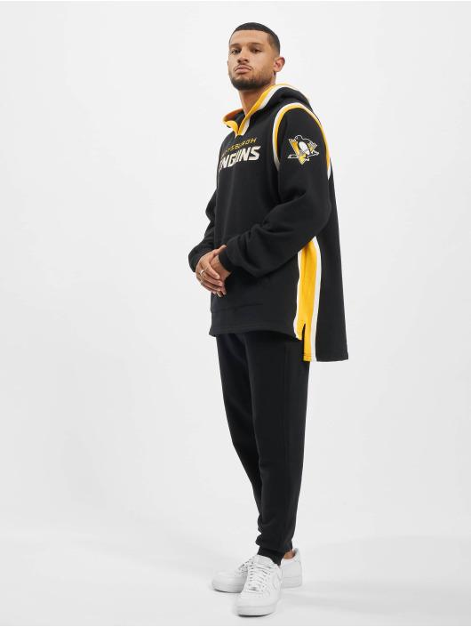 47 Brand Hoody Pittsburgh Penguins Layup schwarz