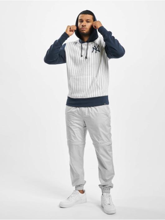 47 Brand Hoody New York Yankees Imprint LC Pinstripe weiß