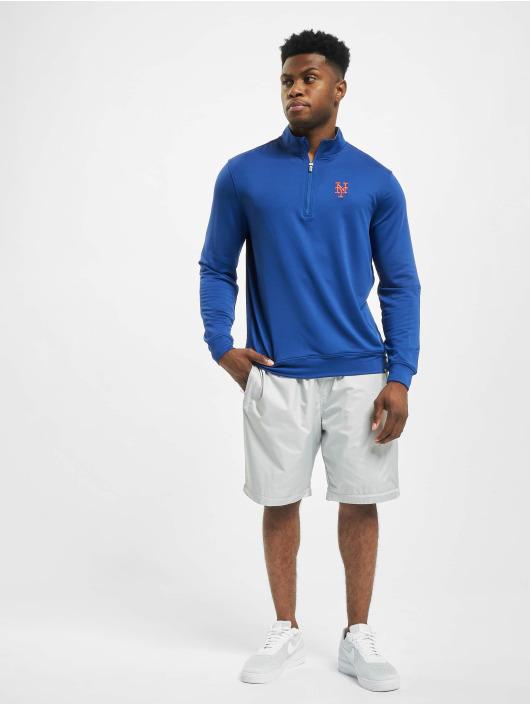 47 Brand Longsleeve New York Mets Relay blau