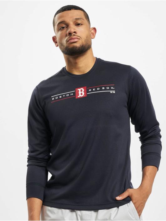 47 Brand Longsleeve MLB Red Sox Microlite blau
