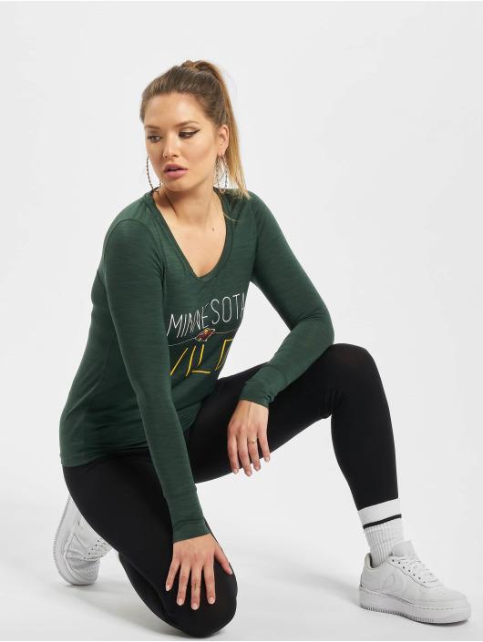 47 Brand Longsleeve Minnesota Wild Forward Micro Shade grün