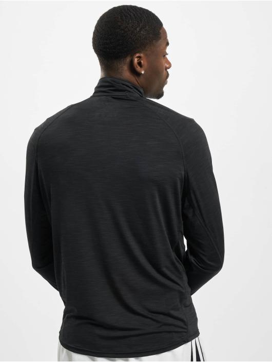 47 Brand Longsleeve Mlb Giants Sweep 1/4 Zip schwarz