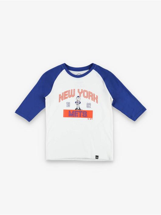 47 Brand Longsleeve MLB Mets Super Rival Raglan weiß