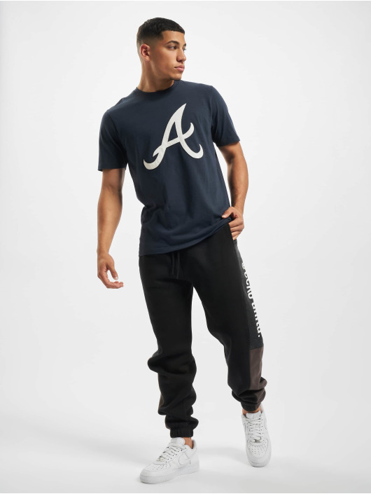 47 Brand Poloshirt Atlanta Braves Knockout Fieldhouse blau