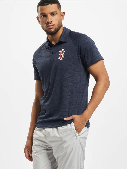 47 Brand Poloshirt MLB Red Sox Impact blau