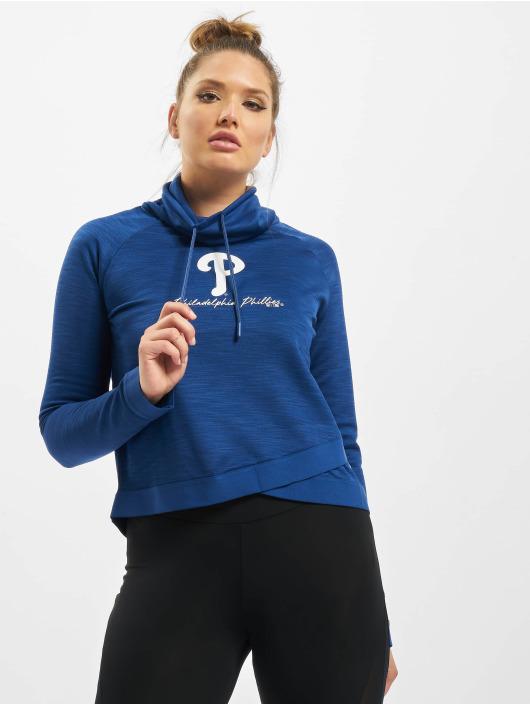 47 Brand Pullover MLB Phillies Commuter Funnelneck blau