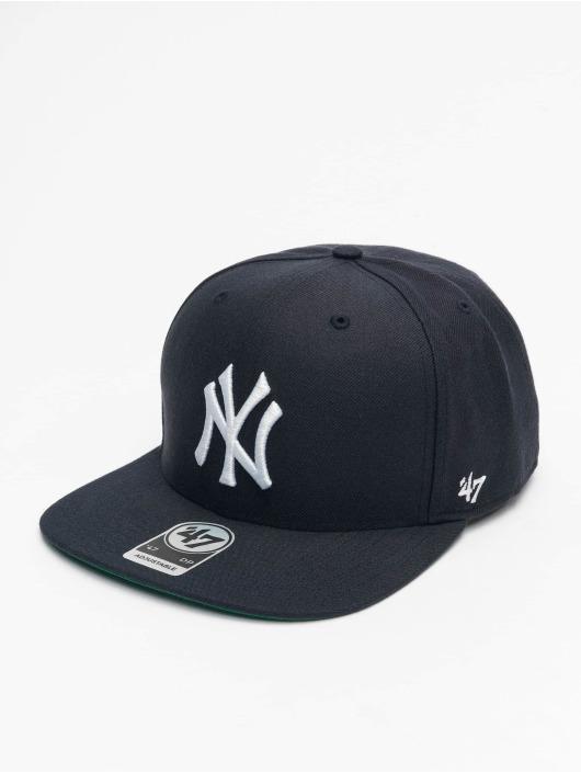 47 Brand Snapback Cap MLB New York Yankees Cold Zone MVP DP blau