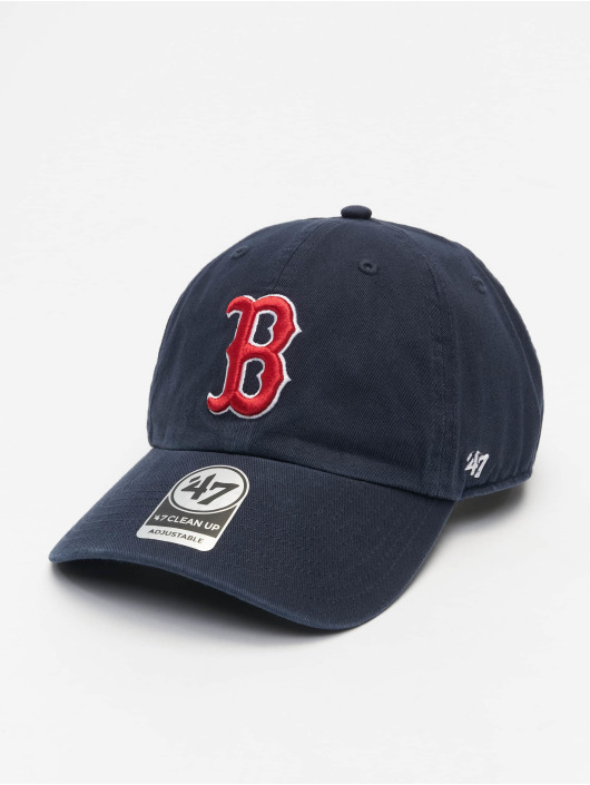 47 Brand Snapback Cap MLB Boston Red Sox Clean Up blau