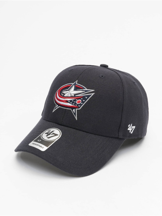 47 Brand Snapback Cap NHL Columbus Blue Jackets MVP blau