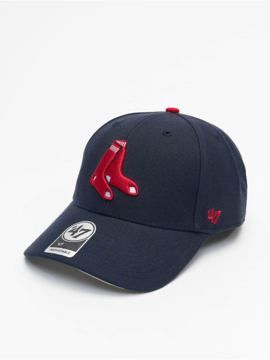 47 Brand Snapback Cap MLB Boston Red Sox MVP blau