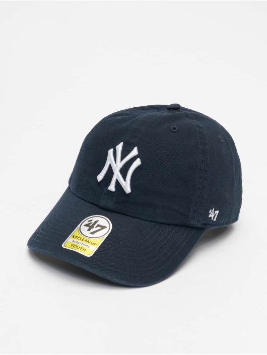 47 Brand Snapback Cap Clean Up Youth blau