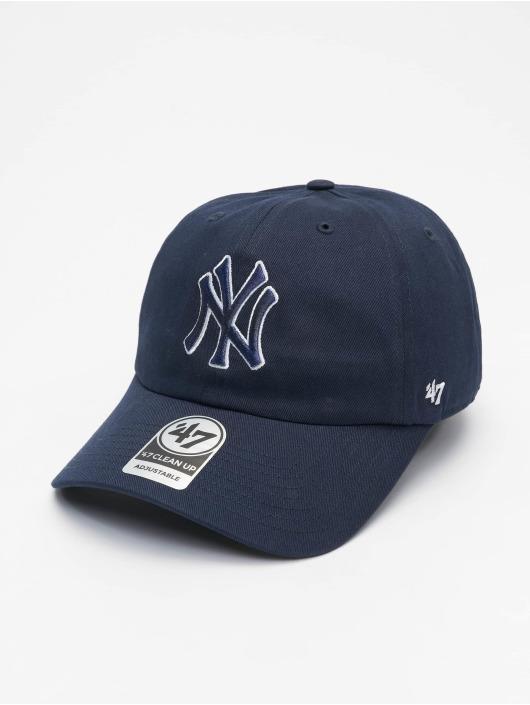 47 Brand Snapback Cap New York Yankees Epic Clean Up blau