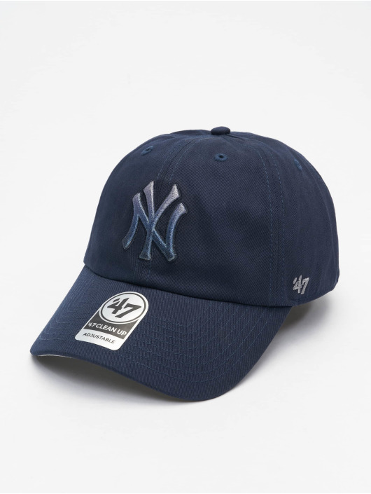 47 Brand Snapback Cap Yankees Falton Clean Up blau