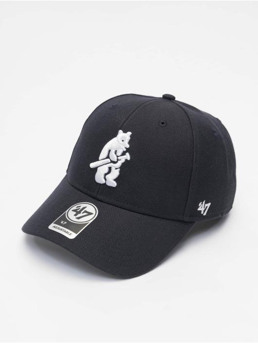 47 Brand Snapback Cap MLB Chicago Cubs Cooperstown MVP blau